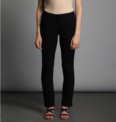 Black Fitted Pants