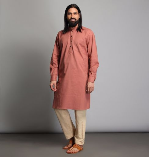 Cinnamon long kurta