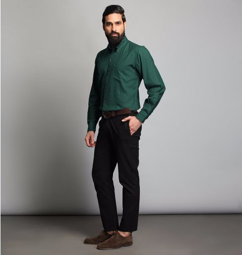 Dark Green Full Sleeve Shirt