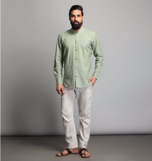 Fern Green full sleeve shirt