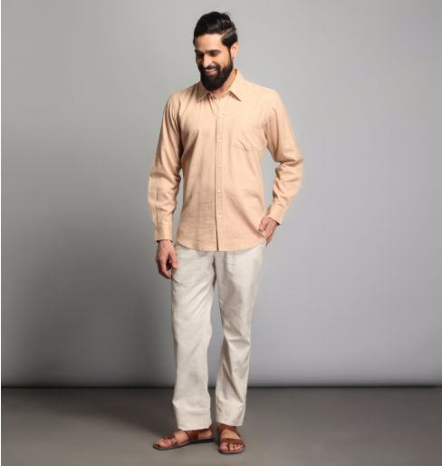 Warm Sand full sleeve shirt
